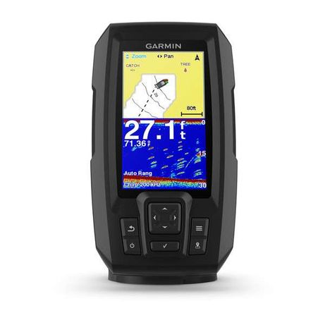 Garmin Striker 4/4CV PLUS эхолот 4,3 дюйма GPS + создание карт