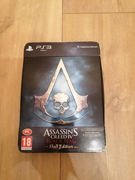 Assassins Creed 4 Black Flag PS3 PL Skull Edition