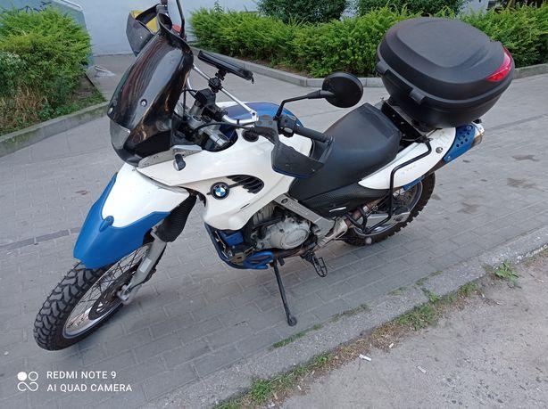 BMW GS 650 silnik rotax 2004r zadbany sprawny cena do nego zamienię