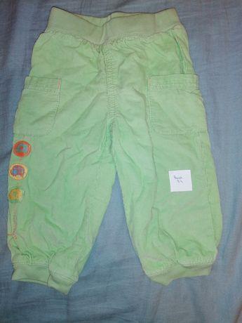 Spodnie dla dziewczynki rozmiar 74