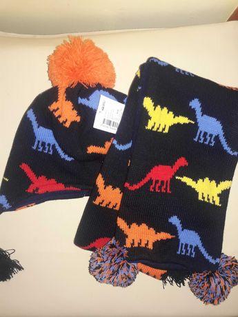 Набор шапка и шарф/зима на 2-3 года