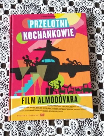 """Pedro Almodóvar """"Przelotni kochankowie"""" DVD film hiszpański"""