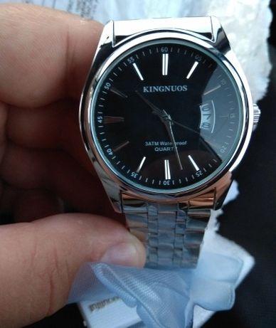 Часы кварцевые водонепроницаемые наручные мужские