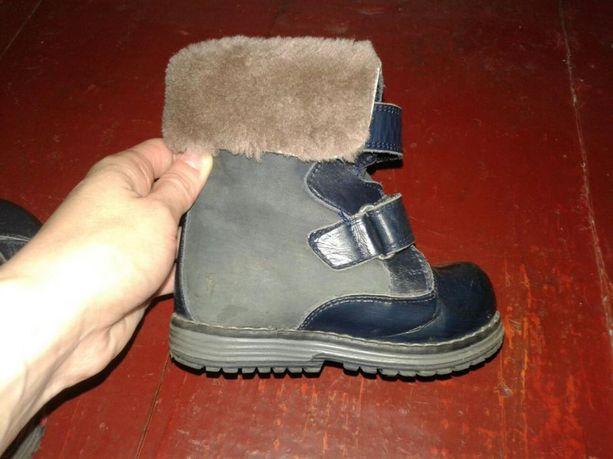 Детские зимние сапожки ботинки ботінки