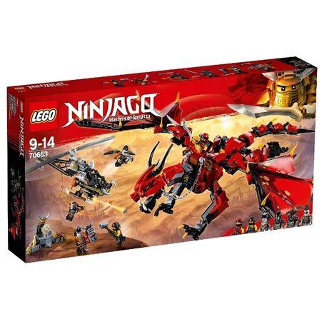 LEGO 70653 NINJAGO Первый страж (так же Читай описание)