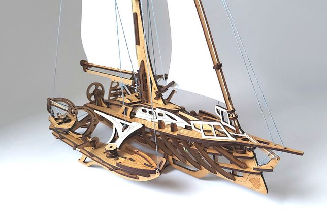 Model 3D - Jacht żaglowy TRIMARAN