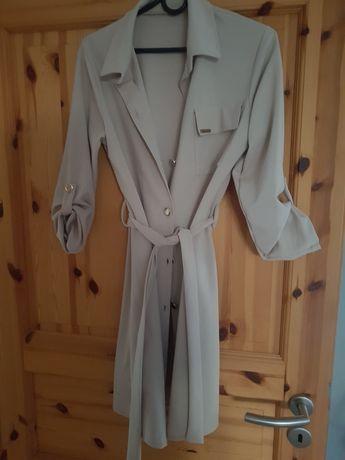 Tunika bluzka beżowa