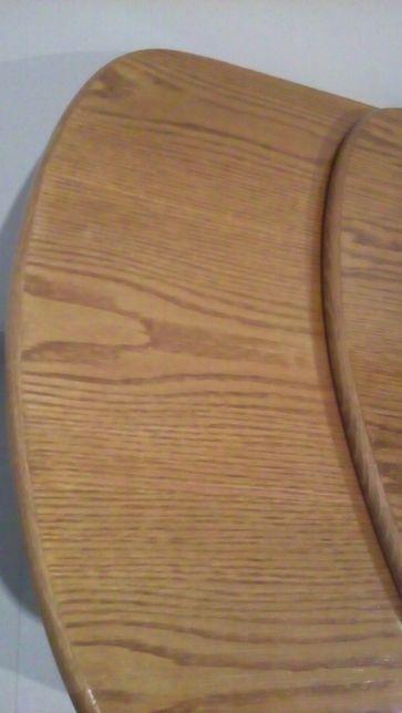 Cozinha ou escritório? - Mesa em madeira maciça e envernizada-carvalho