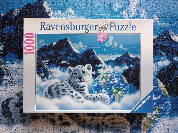 Puzzle Ravensburger 1000 Bed of Clouds, Schimmel