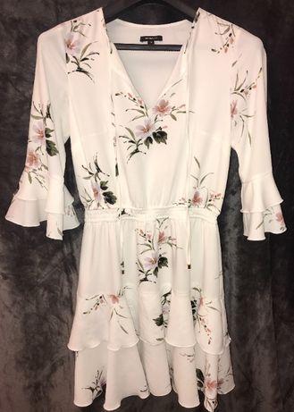 sukienka w kwiaty ETTE LOU rozm. S/36