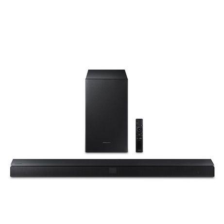 Soundbar e subwoofer sem fios Samsung