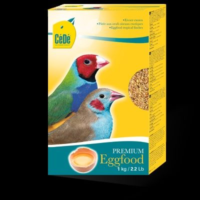 Pokarm jajeczny dla egzotycznych ptaków CeDe amadyna