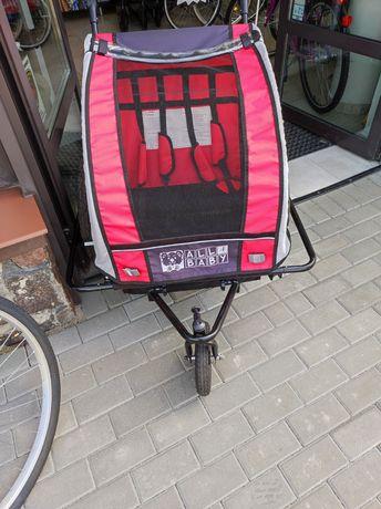 Sprzedam przyczepkę rowerową 2 osobowa