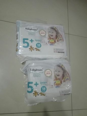 Pampersy Babydream 5+