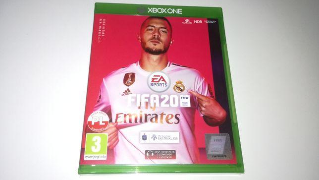 xbox one FIFA 20 2020 PL stan 5/5 polski komentarz meczu