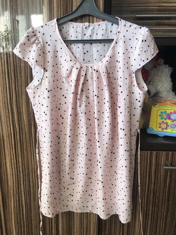 Блузка для вагітних на короткий рукав
