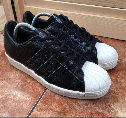 Кожаные оригиналы  adidas superstar кроссовки ,кроссы ,кеды