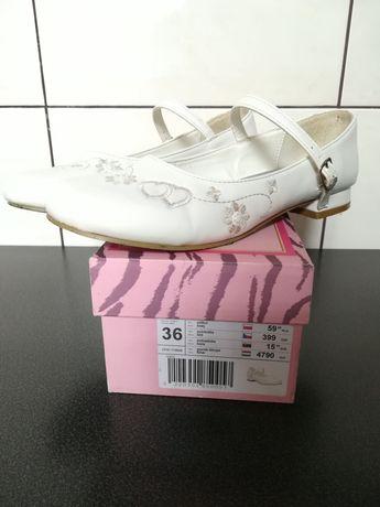 Buty komunijne dla dziewczynki 36 i 37