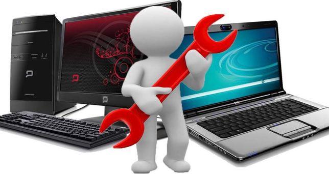 Naprawa laptopów  komputerów Serwis dojazd i wycena Informatyk Serwis