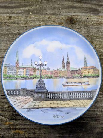 Винтаж: Коллекционная настенная тарелка Dr.Michael Otto 1989 года