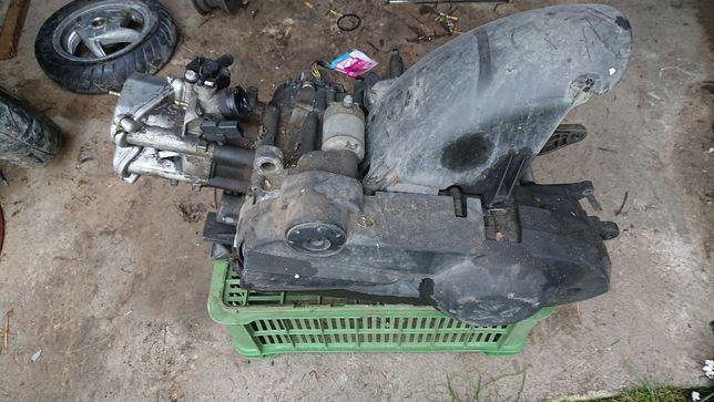 Części silnika Peugeot Geopolis 125 kartery wariator pasek głowica