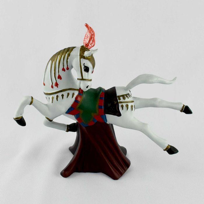 Figura em Biscuit de Cavalo 4000 anos de Escultura Equestre – MOGUL