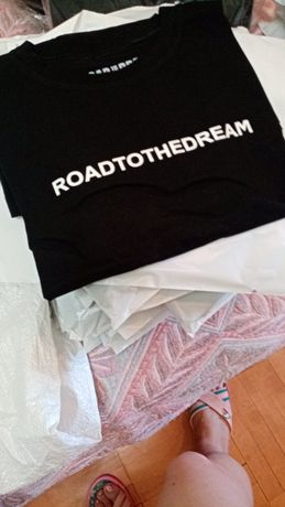 Футболка road to the dream