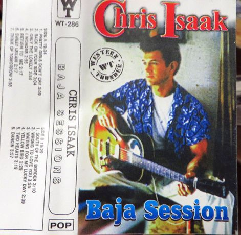 "Кассета Chris Isaak ""Baja Sessions"" 1996"
