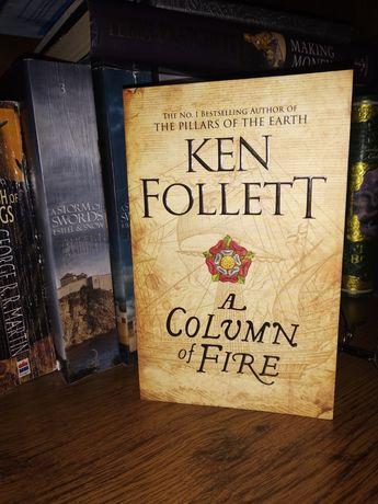Ken Follett A Column of Fire на английском