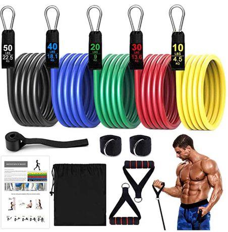 Bandas elásticas Fitness Resistência 67,5 kg - NOVO
