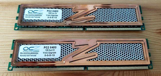 память OCZ 2 x 1 Гб DDR2-800