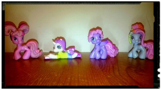 SUPER OKZAZJA! kucyki My Little Pony 4 szt. wspaniały prezent!