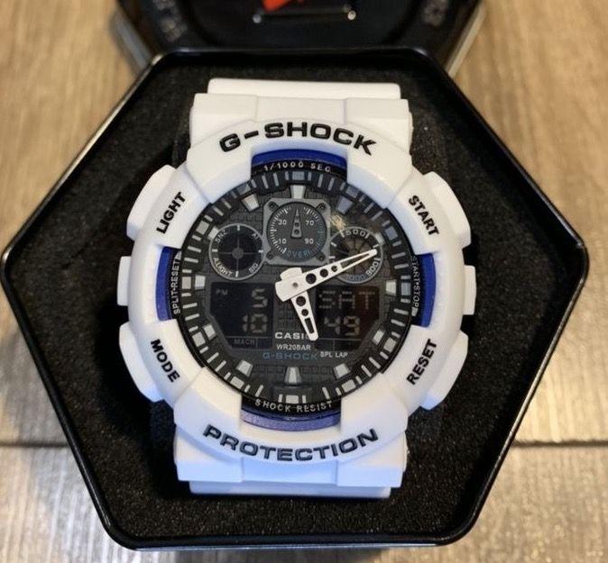 Zegarek Casio G-Shock GA-100 Biały z czarną tarcza Gdańsk - image 1