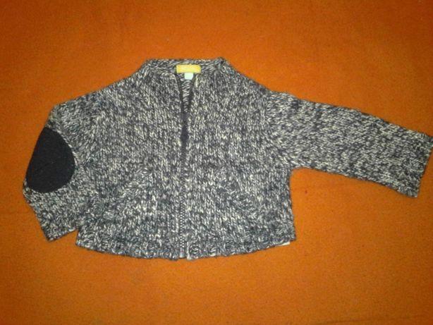 Теплый свитер, на 3-6мес.