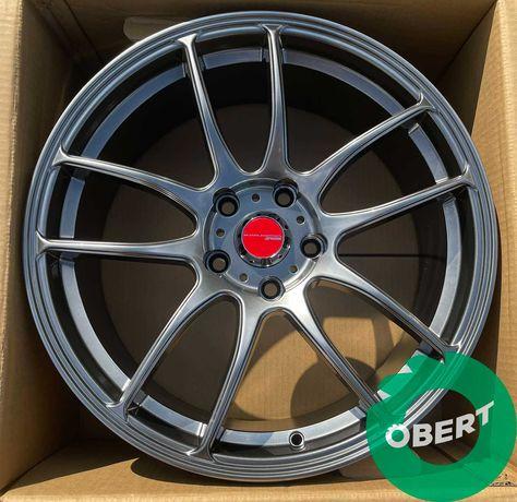 Новые диски Work Emotion 5*112 R17 на Vw Golf Jetta Skoda Audi A3 A4