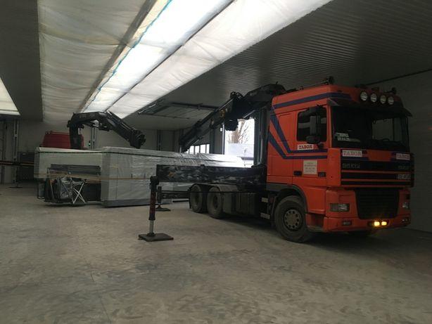 Transport, usługi HDS, Wynajem na budowy