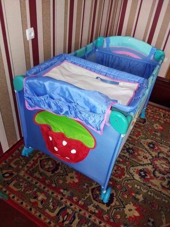 Детский манеж кровать люлька