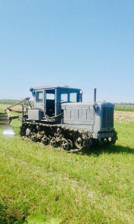 Продам трактор Т-74 с плугом (Долинская, Кировоградская обл.)