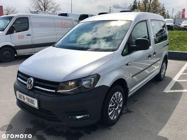 Volkswagen Caddy 2.0TDI Life Klimatyzacja Tempomat Salon Polska Fakt Vat 23% LEASING