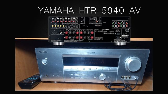 Ресивер YAMAHA HTR-5940 AV