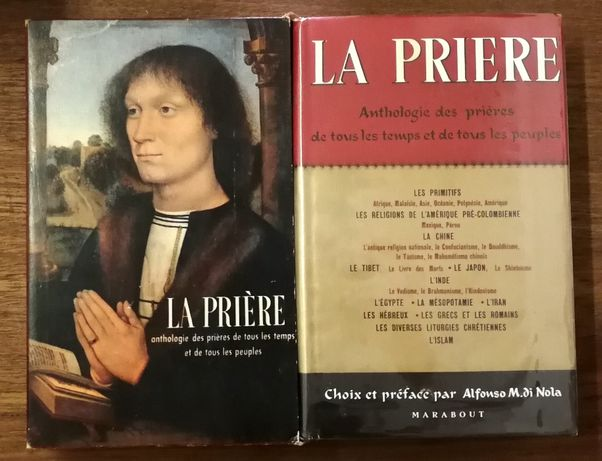 la priere, anthologie des priéres de tous les temps, afonso m.di nola