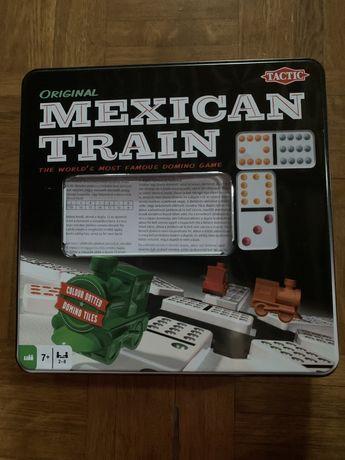 Nowa  prezent gra planszowa domino Mexican Train w puszce