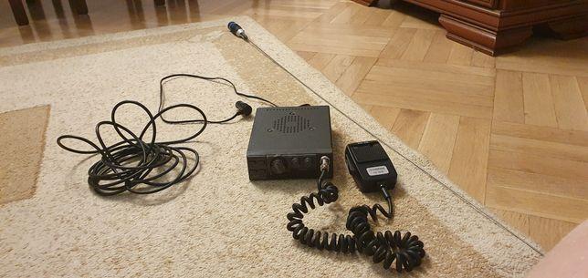 Midland Alan 18 cb radio z anteną