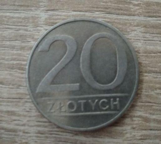 Moneta 20zl sprzed denominacji