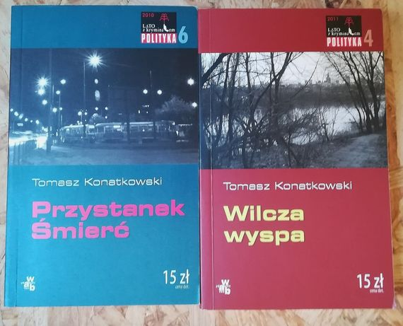 Kryminały Wroński, Miłoszewski, Krajewski inni