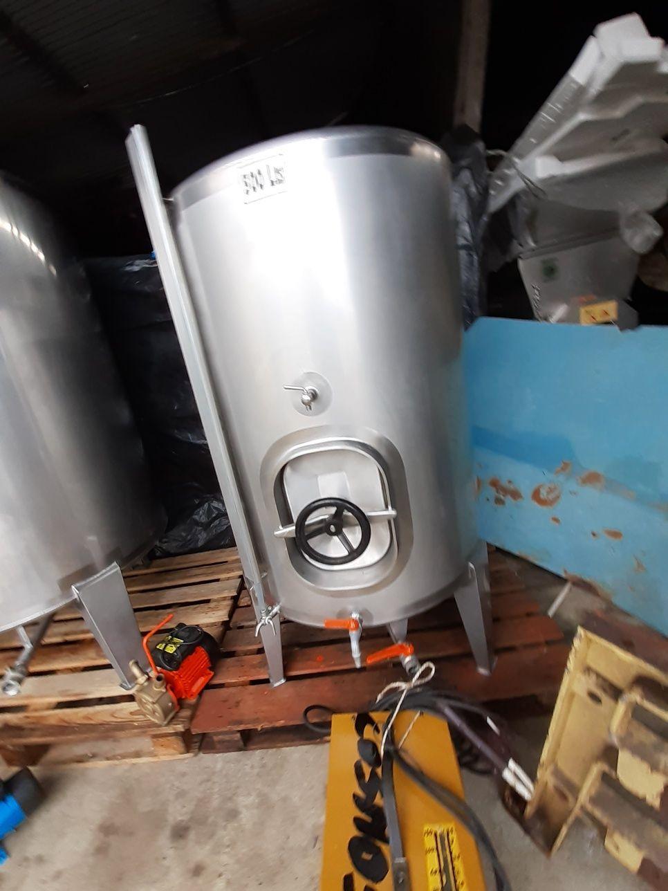 Cubas inox para vinho de 550L ,1000L e outros acessorios