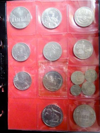 Ювілейні монети СССР 64шт