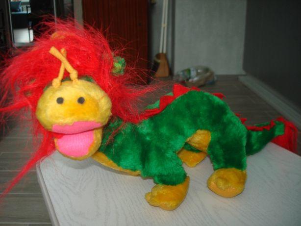 игрушка мягкая дракон