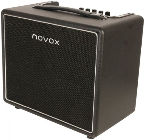 Wzmacniacz gitarowy Novox nPlay USB/BT, akumulator, mikrofon b/przewod
