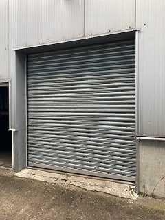 Brama garażowa rolowana 2,95x2,8 elektryczna ocieplana przemysłowa